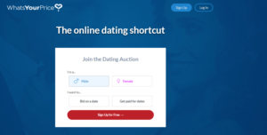WhatsYourPrice.com – Service for Meeting Singles